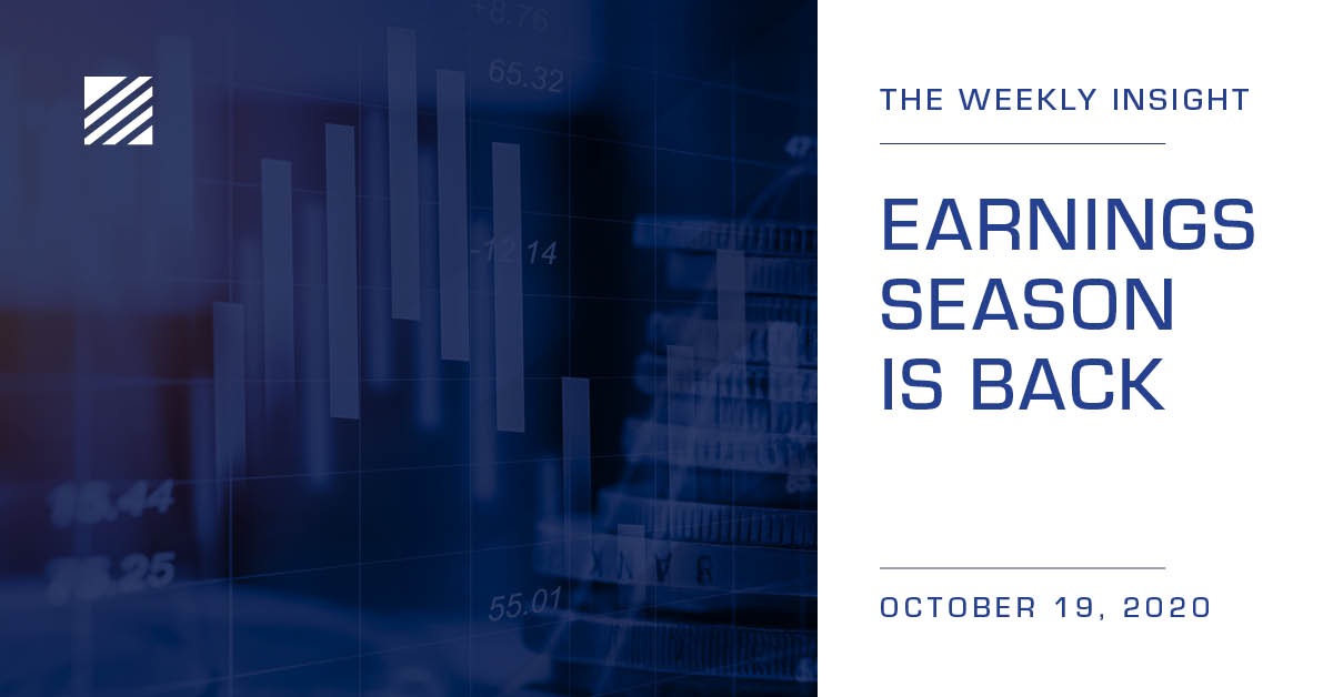 The Weekly Insight: Earnings Season is Back Graphic