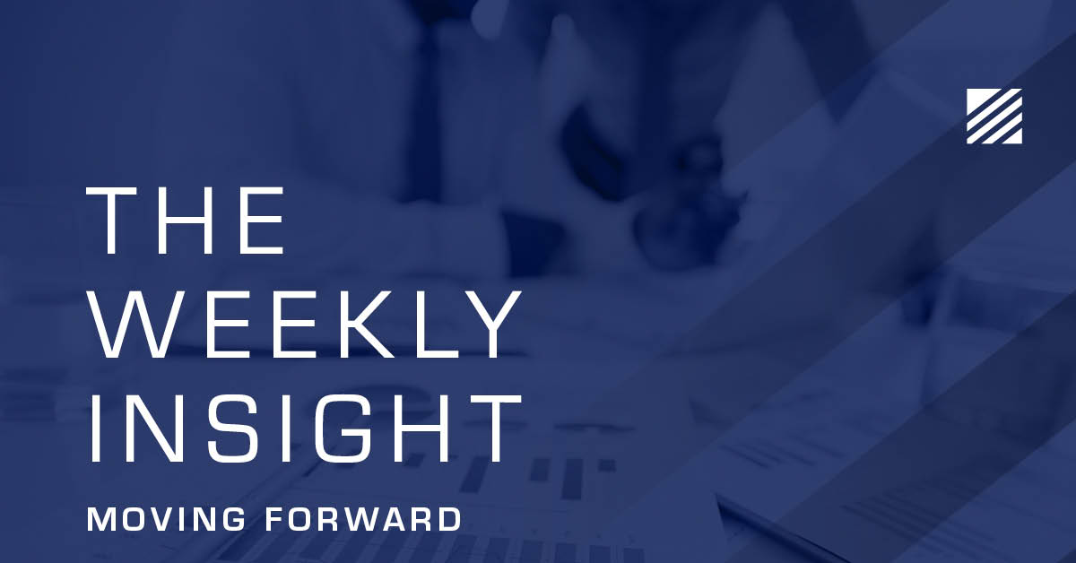 The Weekly Insight: Moving Forward Graphic