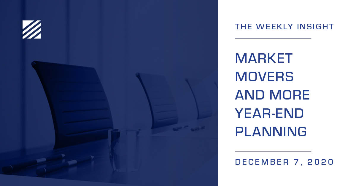 The Weekly Insight: Market Movers and More Year-End Planning Graphic