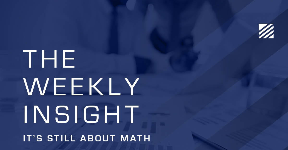 The Weekly Insight: It's Still About Math Graphic