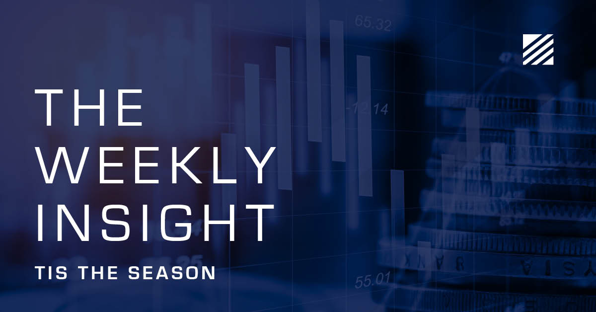 The Weekly Insight: Tis The Season Graphic