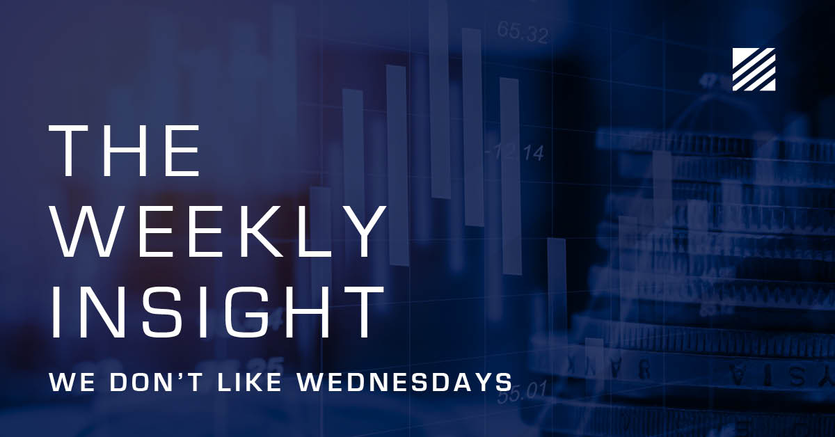 The Weekly Insight: We Don't Like Wednesdays Graphic