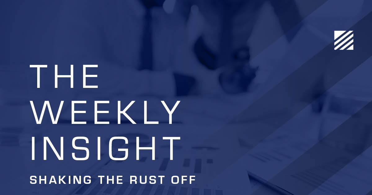 The Weekly Insight: Shaking the Rust Off Graphic