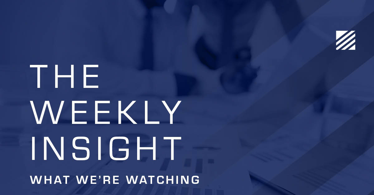 The Weekly Insight: What We're Watching Graphic
