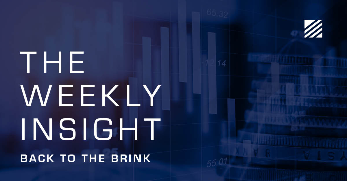 The Weekly Insight: Back to the Brink Graphic