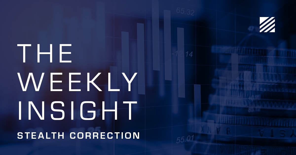 The Weekly Insight: Stealth Correction Graphic